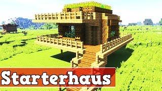 Wie Baut Man Ein Starter Haus In Minecraft Minecraft Starterhaus - Minecraft haus unter wasser bauen