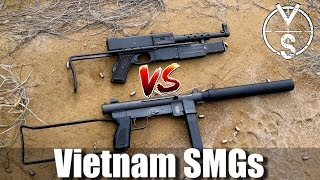 Historical Vietnam War Machine Guns S&W-76 VS MAT-49