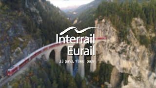 Interrail, 33 ország, 1 jegy
