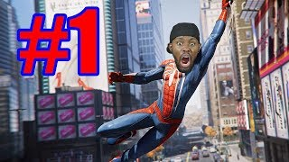 Black Guy Plays: Marvel's Spider-Man Ep.1 - Super Duper Expert Difficulty (Kappa)