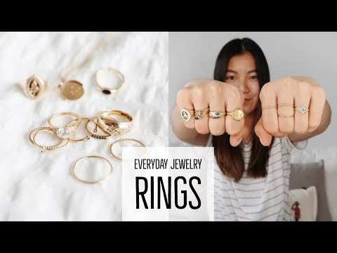 EVERYDAY JEWELRY | RINGS