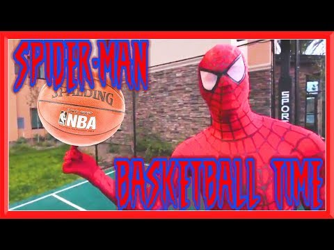 Spider Man Basketball Time | Spidey vs Challenger