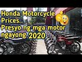 Honda Motorcycle Pricelist as of 2020.. Presyo ng mga motor ng honda year 2020 @Guanzon iloilo
