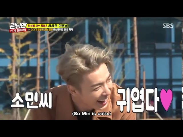 Super Junior Donghae Fall in Love With So Min [eng sub]