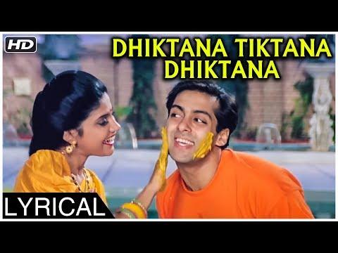 Dhiktana Tiktana Dhiktana   Version 1   Lyrical   Hum Aapke Hain Koun   Salman Khan, Madhuri Dixit