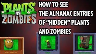 Plants vs  Zombies - Ice Level [HIDDEN MINI-GAME] [BROKEN