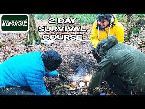 Trueways Survival 2 Day Basic Survival Course /w Lofty Wiseman ...
