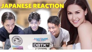 JAPANESE GUYS REACTS FILIPINA ACTRESS!! PART2