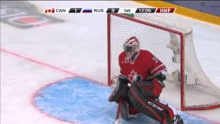 Canada-Russia 5-6(OT).Канада-Россия 2013 IIHF Ice Hockey U20 World Championship 05.01.13