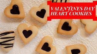 Valentines Day CHOCOLATE Heart Cookies\No Egg Cookie Recipe\chocolate Sandwich Cookie Recipe[2020]