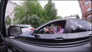 За рулем АвтоХам на Audi / Автохамы на дороге и во дворе