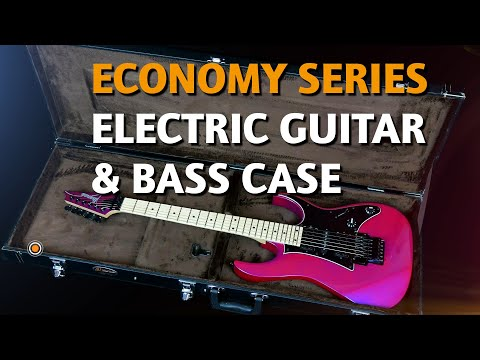 ORTEGA GUITARS | ELECTRIC GUITAR & BASS CASES (ECONOMY SERIES)