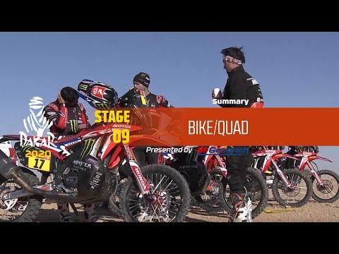【ダカールラリーハイライト動画】ステージ9 バイク部門のハイライト