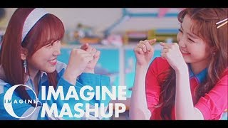 IZ*ONE - 年下Boyfriend X ご機嫌サヨナラ (Younger Boyfriend X Happy Farewell) MASHUP [BY IMAGINECLIPSE]