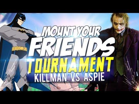 КИЛЛМАН VS ЭСПИ!   MOUNT YOUR FRIENDS
