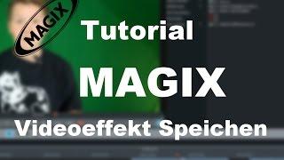 MAGIX Video Deluxe 2017 pro TUTORIAL: Gaußscher Unschärfe Effekt