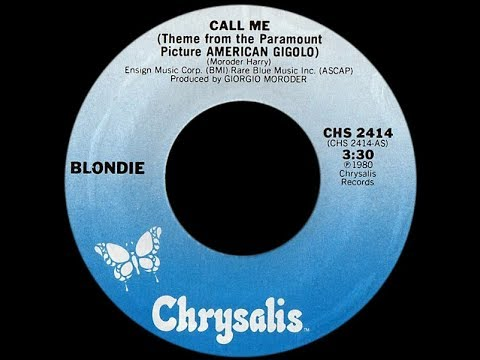 Blondie ~ Call Me 1980 Disco Purrfection Version