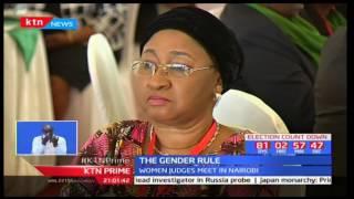 President Uhuru Kenyatta addresses women concerning the 2/3 Gender rule