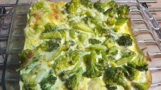 БРОККОЛИ В ДУХОВКЕ.  Самый ЛУЧШИЙ РЕЦЕПТ!!! / En lezzetli brokoli tarifi / Broccoli
