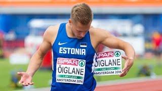 Janek Õiglane- European Athletics Championships 2016