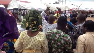 Dr Agbakpan Olita In Action At Late Madam Lucy Igbinehi Burial Ceremony