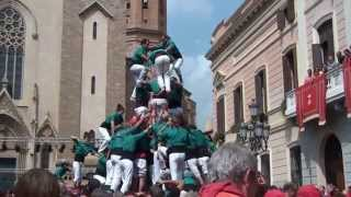 preview picture of video 'Castellers de Sabadell -  id3d9f   Festa Major 2014  (7-9-2014)'