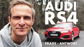 Audi RS4 | Eure Fragen - Meine Antworten | Matthias Malmedie