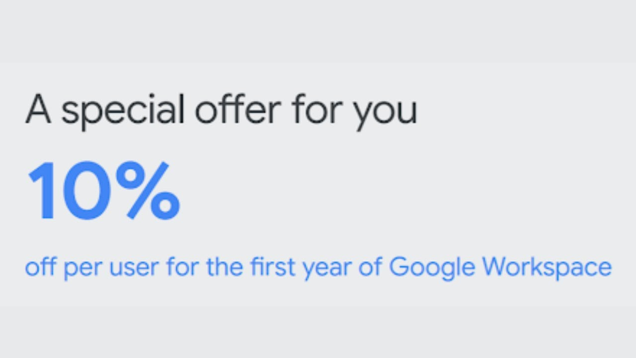 🥇G Suite Promo Code September 2019 (Free 20% Discount Offer