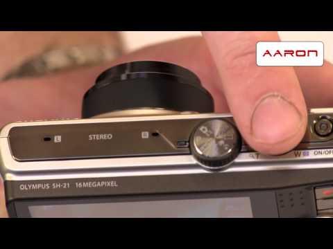 Fotoaparát Olympus SH - 21 - video představení
