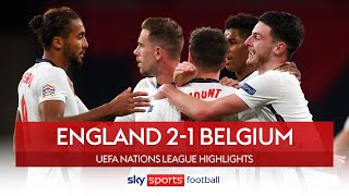 England top group with huge win! ???? | England 2-1 Belgium | Nations League Highlights