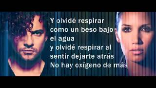 David Bisbal - Olvidé Respirar Feat.  India Martínez (Incluye Letra)