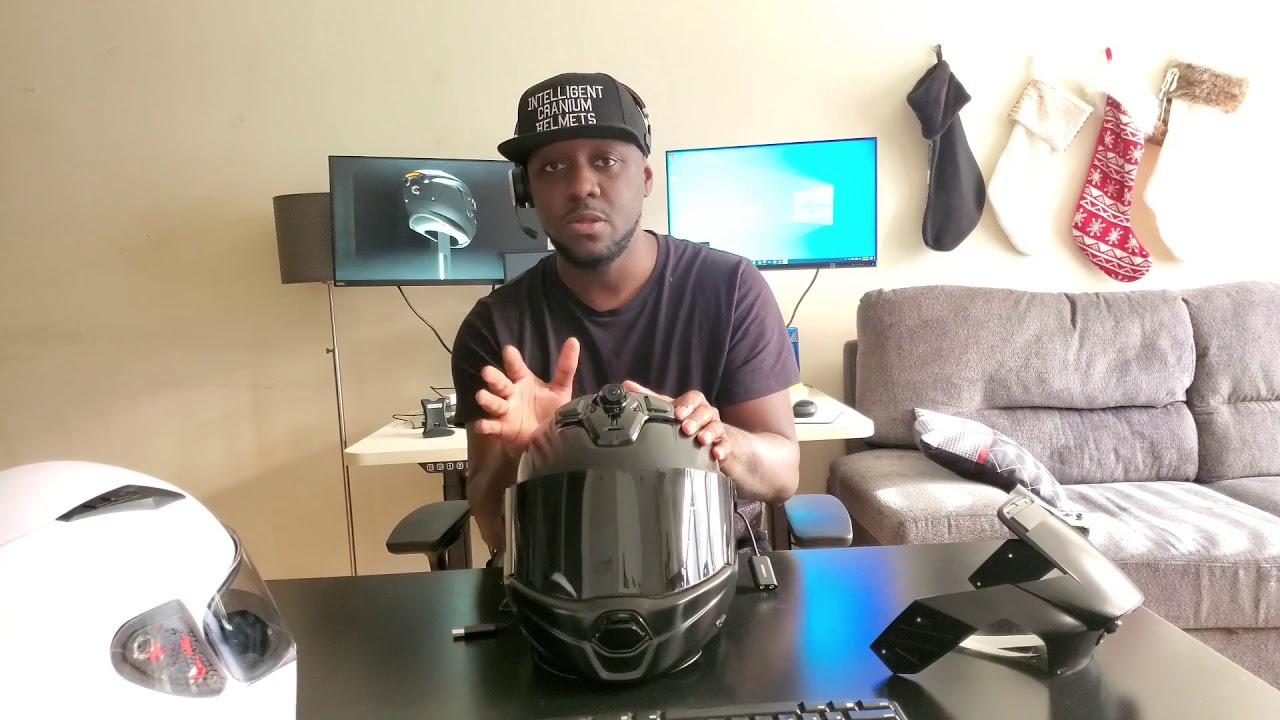 Smart helmet from Intelligent Cranium Helmets