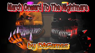 SFM| Fredbear and Nightmare |music by: DAGames - March onward