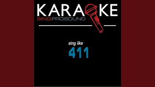 On My Knees (Karaoke with Background Vocal) (In the Style of 411)