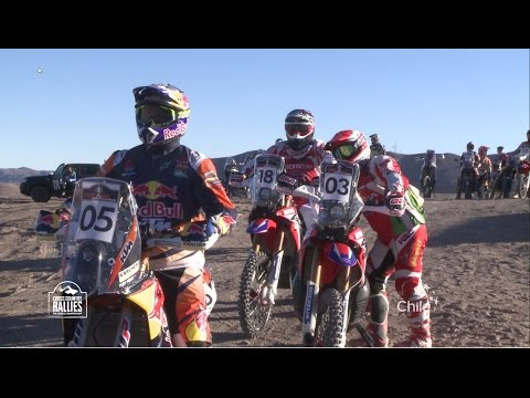 2016 FIM Cross-Country Rallies World Championship - Atacama Rally (CHL) - Clip 4