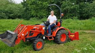 What's A Flail Mower? | Flail Mower For Sale UK | Flail Mower For Compact Tractors