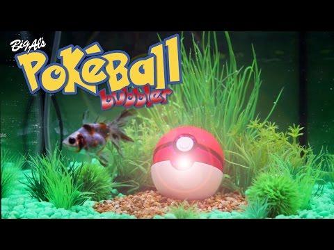 We Built a Pokéball Aquarium Bubbler! (Video)