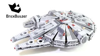 Lego Star Wars 75105 Millennium Falcon – Lego Speed Build