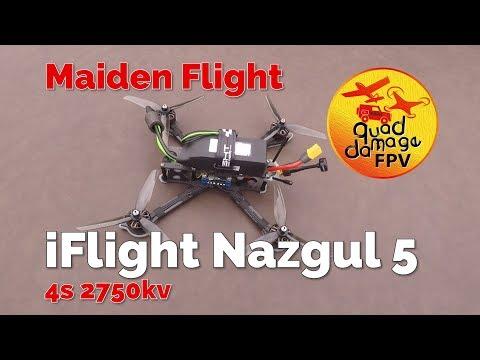iflight nazgul 5 | Maiden Flights | BangGood.com