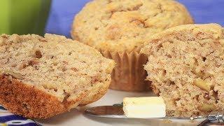 Banana Muffins Recipe Demonstration – Joyofbaking.com