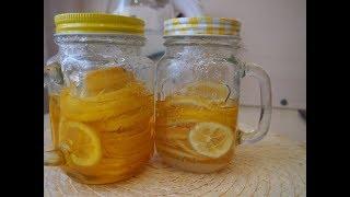 """Простые корейские рецепты: Витаминный напиток """"Лимонный чай"""" (레몬 차) Рэмон ча"""
