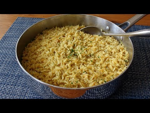 Rice-Ah-Roni – Rice and Pasta Pilaf Side Dish Recipe