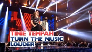 Tinie Tempah ft Katy B - 'Turn The Music Louder' (Live At The Jingle Bell Ball 2015)