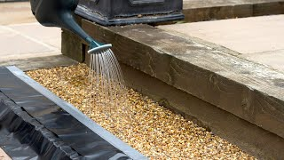 NEW Pour on Resin Gravel Binder for Loose Stones and Chippings in Gardens, Patios and Paths!