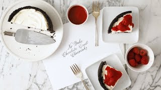 No Bake Cheesecake with Chocolate Crust - Martha Stewart