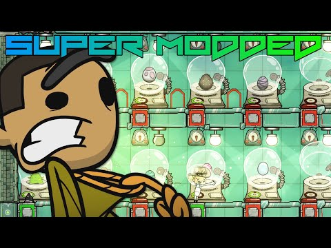 I Automated The Incubators! Super Modded Oxygen Not Included EP18