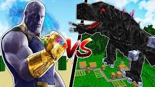 MINECRAFT INFINITY GAUNTLET vs STRONGEST MINECRAFT BOSSES!!