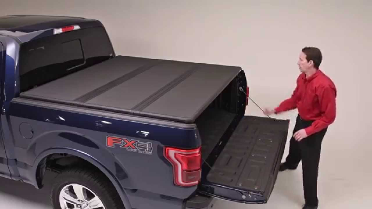 Solid Fold 2.0 Hard Tri-Folding Truck Bed Cover | Extang