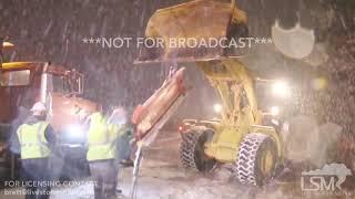 02-18-19 Wareham, MA - Large Snow Plow vs. Pickup Truck Accident- 3 Injured.- Heavy Snow.