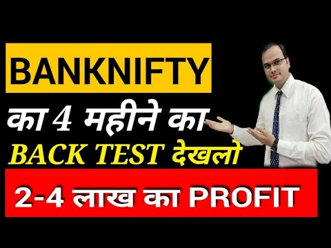 Smart Trade System Free Demo |  BANKNIFTY BACK TEST | Smart trade system software performance